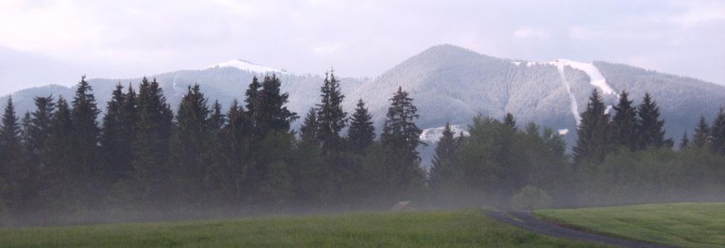 Aussicht rund um Bad Kohlgrub